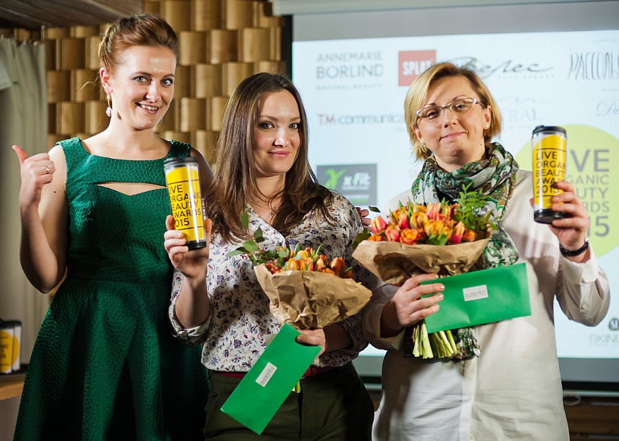 Состоялось награждение Премии Live Organic Beauty Awards!